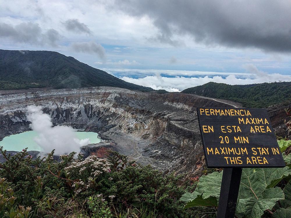 Paos Volcano Costa Rica