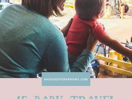 15 baby travel essentials