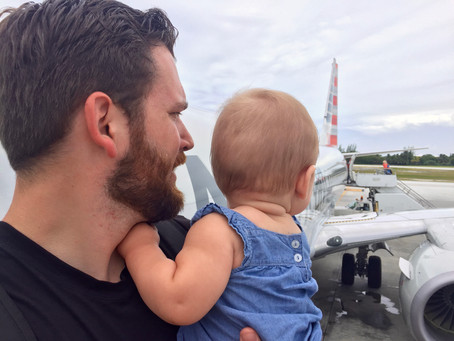 8 survival tips for flying with a baby