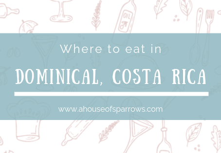 Where to eat in Dominical, Costa Rica