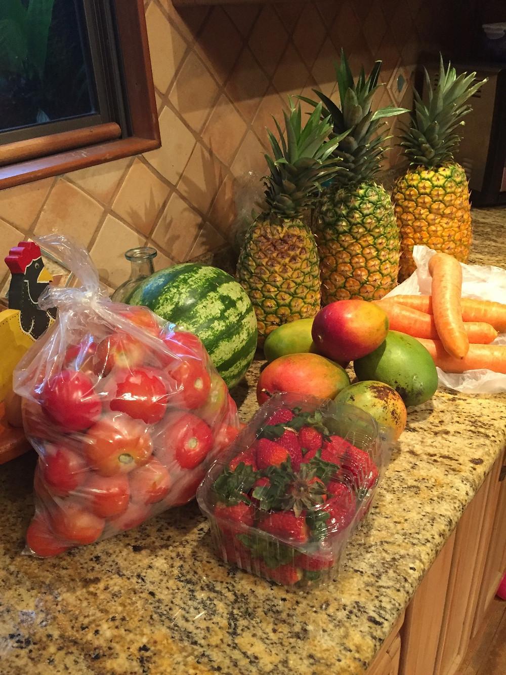 fresh produce Costa Rica