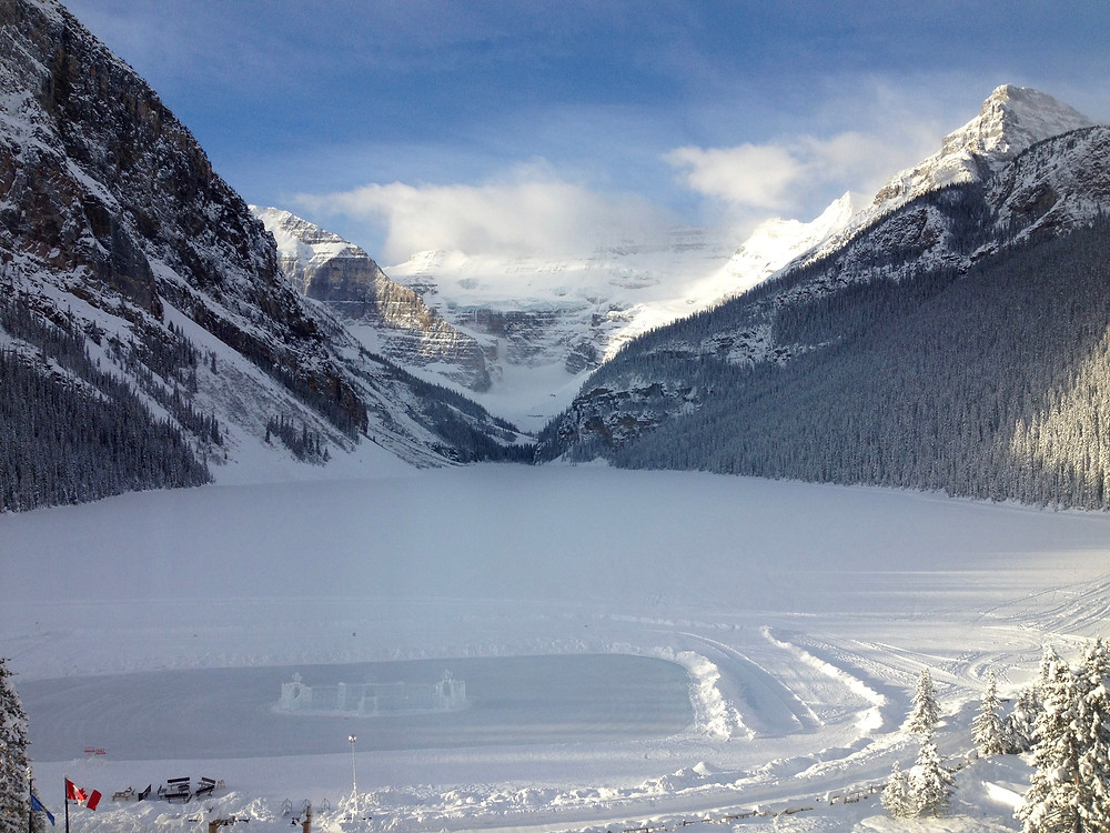 Lake Louise in January