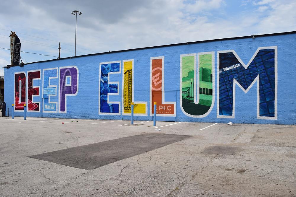 42 Mural project Deep Ellum