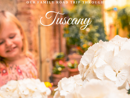 Our family road trip through Tuscany
