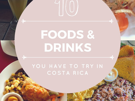 Top 10 foods & drinks you have to try in Costa Rica