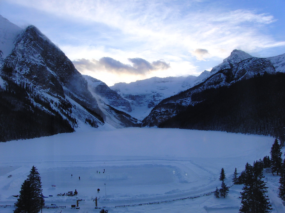 Lake Louise at winter