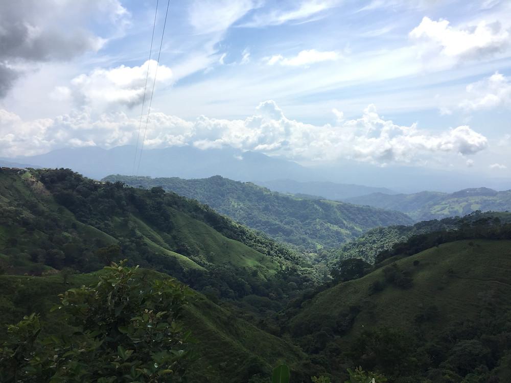 scenic views of Costa Rica