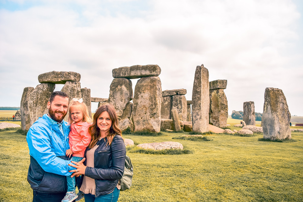 family trip to Stonehenge