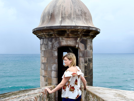 A day in Old San Juan, Puerto Rico