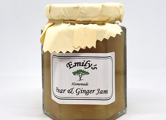 Homemade Pear & Ginger Jam