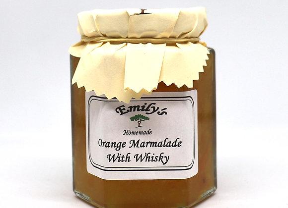 Homemade Orange Marmalade with Whisky