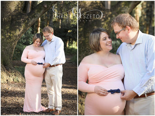 Spring Maternity Session - Laura & Brian