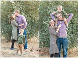 Family Photo Mini Session in Walnut Creek