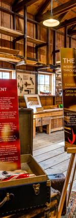 Exhibit opening at the Britannia Shipyards Museum, Richmond. Photo by Joel Baziuk.