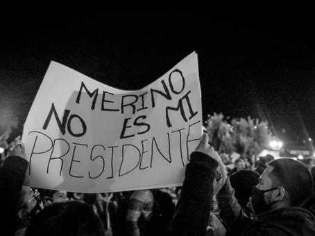 Breaking News. Vacancy: President of Peru.