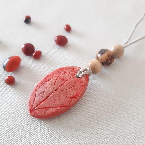 Collier perles éco-responsable Ancolies des Jardins