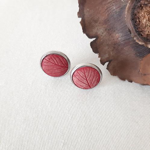Clous d'oreilles eco-responsables Tomates Cerises