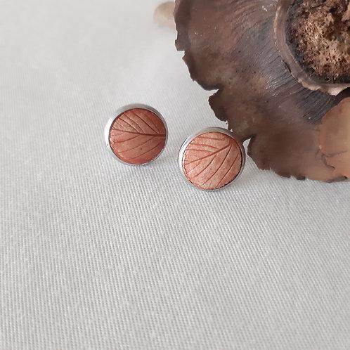 Clous d'oreilles eco-responsables Tomates Cerise