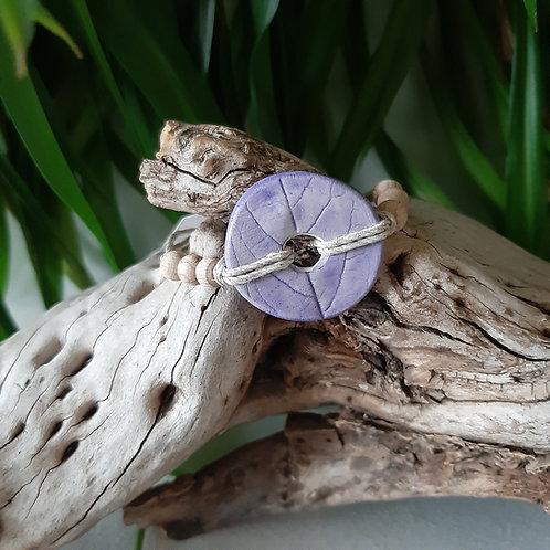 Bracelet eco-responsable Ancolies des Jardins
