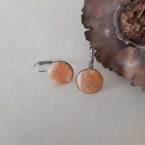 Boucles d'oreilles eco-responsables Basilic