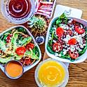 organic baby kale salad