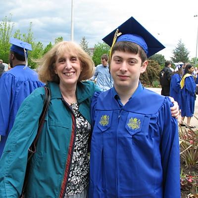Sam Fregly Hofstra Graduation