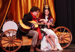 BremMuzikantyTroubadour and Princess
