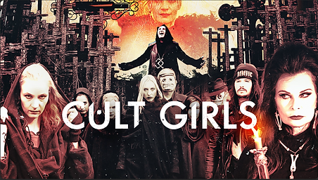 Cult Girls horror movie film poster for Apple TV