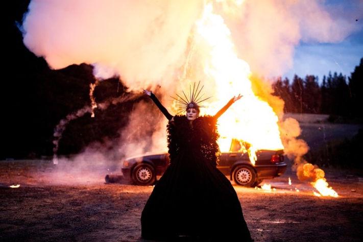 Darlia from Cult Girls Horror Movie