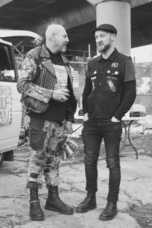 Mark Bakaitis & Bucky (Homeless Punk)