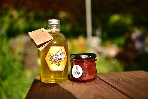 自然の恵み・蜂蜜と手作りジャムのセット(送料無料)