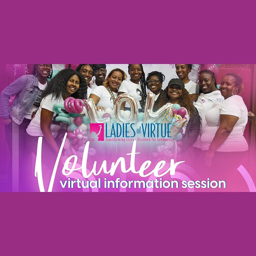 LOV 2020 Winter Volunteer Info Session