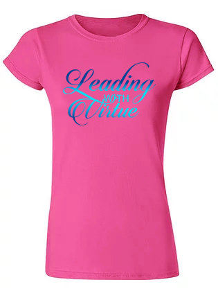 LWV Berry Fitted T-Shirt