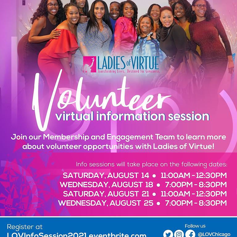 LOV 2021 Volunteer Information Session