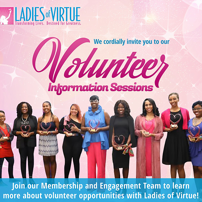 LOV Volunteer Information Sessions