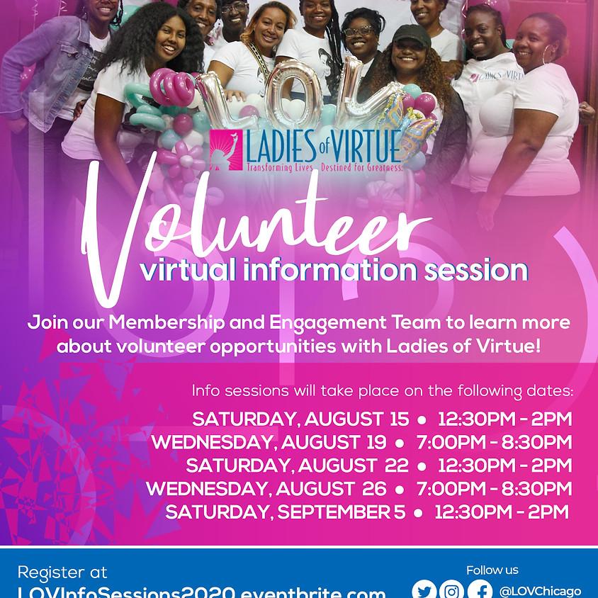 Volunteer Virtual Information Session