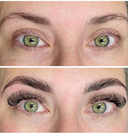 Volume Lashes and Brow Lamination