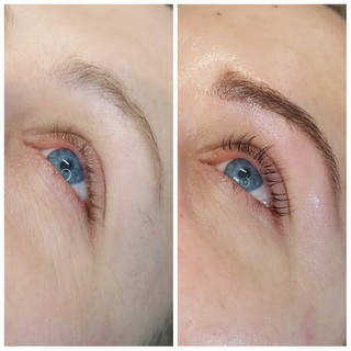 Henna Brow Treatment with Lash Lift and Tint