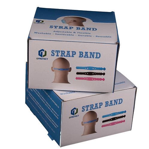 Expositor salva orejas Gprotect Strap Band 100 Pack ( 2 Unidades en cada Pack)