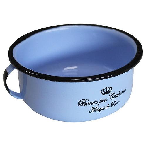 Comedouro Azul Bonito Pra Cachorro