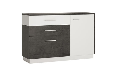 ZINGARO 1 DOOR 2 DRAWER SIDEBOARD