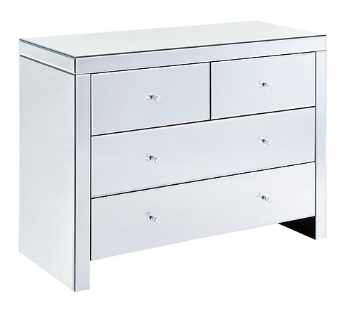 NEWMARKET 4 DRAWER COMBI CHEST