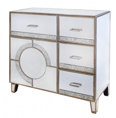 GATSBY 4 DRAWER 1 DOOR SIDEBOARD