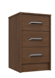 MARLOW 3 DRAWER BEDSIDE