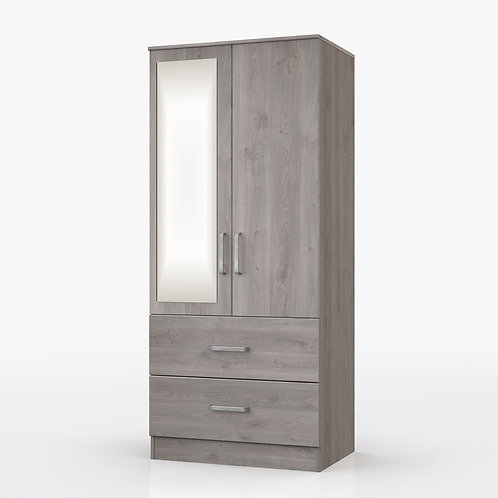 MINNESOTA DOUBLE COMBI MIRROR WARDROBE