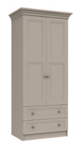 TONBRIDGE DOUBLE COMBI WARDROBE