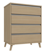 TAMAR 4 DRAWER CHEST
