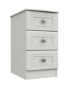 CANTERBURY 3 DRAWER BEDSIDE