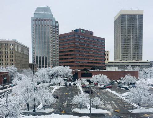 Winter Downtown Springfield
