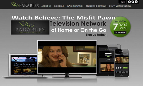 """Watch """"Believe: The Misfit Pawn"""" on Parables at Home or on the Go"""